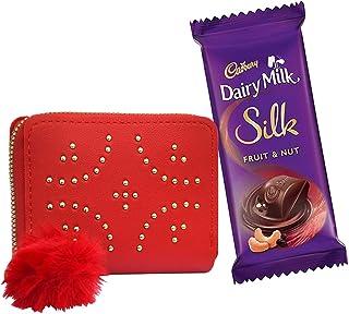 Saugat Traders PU Leather Women's Wallet-Ferrero Rocher Chocolate-Gift For Wife-Girlfriend-Friends