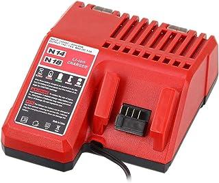 Battery Charger 48-59-1812 for Milwaukee M12 M14 M18 Lithium Battery 12V-18V 48-11-2420 48-11-2440 48-11-1820 48-11-1840 4...