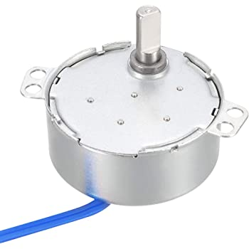 Uxcell a16010600ux0084 CCW//CW Direction 4W 50//60Hz Frequency 5-6RPM Synchronous Motor AC 100-127V