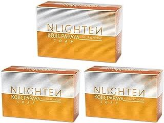 NLIGHTEN KOJIC PAPAYA SOAP (3 BARS) w/GLUTATHIONE BY NWORLD