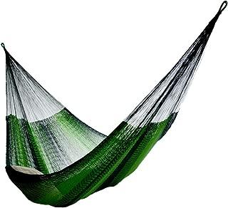 Hammocks Rada: Handmade Yucatan Hammock - Matrimonial Size - 13ft Long Artisan Crafted (Green)