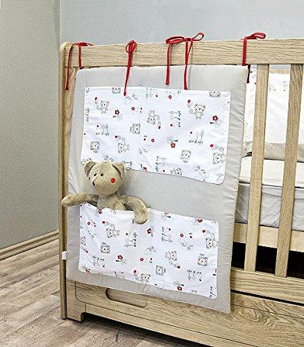 Organisateur de lit bébé garçon Ourson Teddy