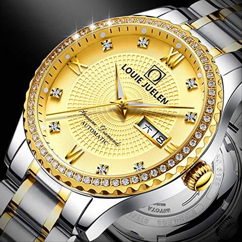 Miwaimao Nuevo Reloj Suizo para Hombre Reloj Mecánico Automático Tourbillon Hollow Cassie Reloj De Oro para Hombre Genuino Impermeable