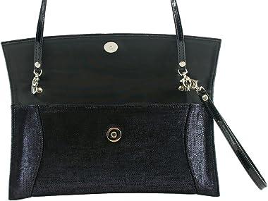 BOSCCOLO 4589-90-91 Clutch, leather, Leder, Pochette cuir