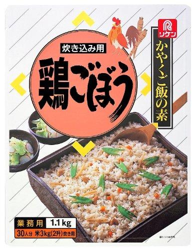 理研ビタミン リケン かやくご飯の素 炊き込み用 鶏ごぼう 1.1Kg