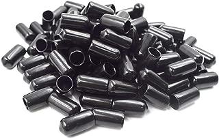 Cyful 1//4 Screw Thread Protectors Black 50pcs
