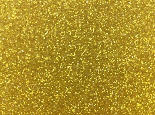 "Glitter Cardstock, Misscrafts 10 Sheets 12"" x 8"" Sparkling Glitter Cardstock 250gms Scrapbooking Craft Paper for Cardmaker DIY Christmas Wedding Birthday Decoration Craft (Gold)"