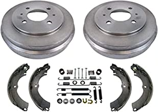 02-07 Mitsubishi 14Inch Rim Lancer ES SE Brake Drums & Shoes & Brake Springs