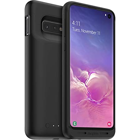 Mophie 401002798 Juice Pack - Protective Battery Case for Samsung Galaxy S10 – Charging Case – Wireless Charging – High-Impact Protection