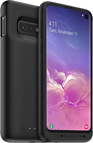 Mophie 401002799 Juice Pack - Protective Battery Case for Samsung Galaxy S10+ – Charging Case – Wireless Charging – H...