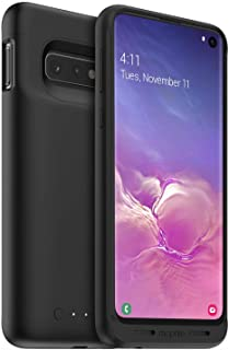 Mophie 401002799 Juice Pack - Protective Battery Case for Samsung Galaxy S10+ – Charging Case – Wireless Charging – High-Impact Protection, Black