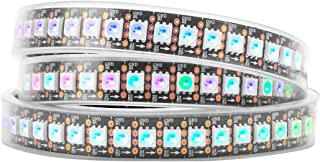 BTF-LIGHTING WS2813 (Upgraded WS2812B) 3.2ft 144 Pixels Magic Dream Color Individually Addressable RGB LED Flexible Strip ...