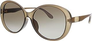 نظارات شمسية من غوتشي GG 0793S 002 بنية بلاستيك عدسات متدرجة