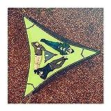 Hamaca aérea gigante para acampar, hamaca de árbol para 3 personas, hamaca portátil para varias personas, diseño de 3 puntos, hamaca triangular multifuncional para acampar, viajar, patio, bosque