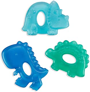 Itzy Ritzy Water-Filled Teethers; Set of 3 Coordinating Cactus Water Teethers; Cutie Coolers are Textured On Both Sides to...