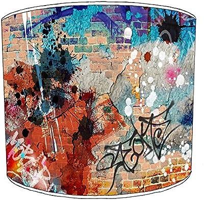 Premier Lighting 8 inch Graffiti Street Art abat-jour17 pour Une Lampe de Table