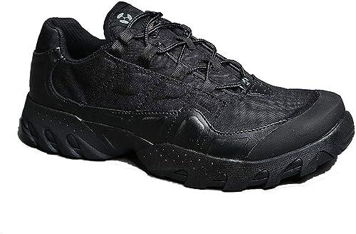 LAFE botas de combate del desierto Impermeable ultra ligero antideslizante resistente al desgaste,botas bajas al aire libre cremallera