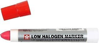 SAKURA - XSCLH-19 Sakura Solidified Paint Low Halogen Marker, Red (Box of 12)