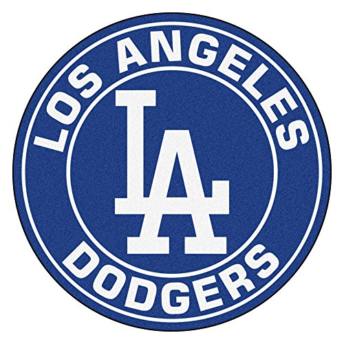 FANMATS 18139 MLB Los Angeles Dodgers Roundel Mat