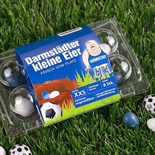 Darmstädter Kleine Eier Oster-Überraschung gemein leckere Schokoeier frisch vom Platz, zum Ärgern von Darmstadt 98-Fans| Süßigkeiten Schokonüsse Dragees