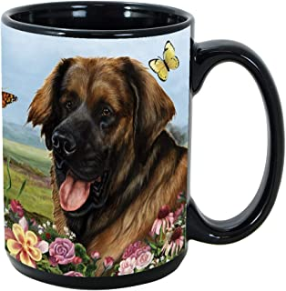 Imprints Plus Dog Breeds (E-P) Leonberger 15-oz Coffee Mug Bundle with Non-Negotiable K-Nine Cash (Leonberger 106)