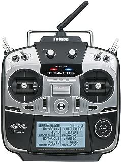Futaba 14SGA Fourteen-Channel Two-Point-Four Gigahertz Computerized Radio Control Flight Transmitter with R7008SB FASSTest Telemetry Receiver