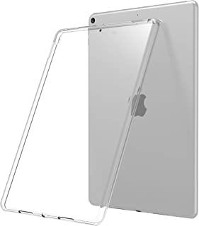 Luvvitt iPad Air Case 2019 3rd Generation and iPad Pro 10.5 Clarity Flexible TPU Silicone Slim and Light Back Cover for Apple - Clear