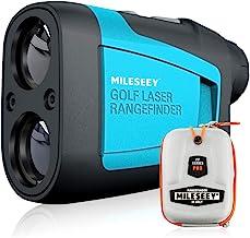 MiLESEEY Professionele Precisie 660Yards Golf Range Finder Apparaten met Helling Compensatie, ± 0.55yard Nauwkeurigheid, S...