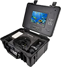 Underwater Camera Fish Finder Camera 7inch Screen 360° Rotating Underwater Fishing Video Camera Fish Finder with DVR 110-2...