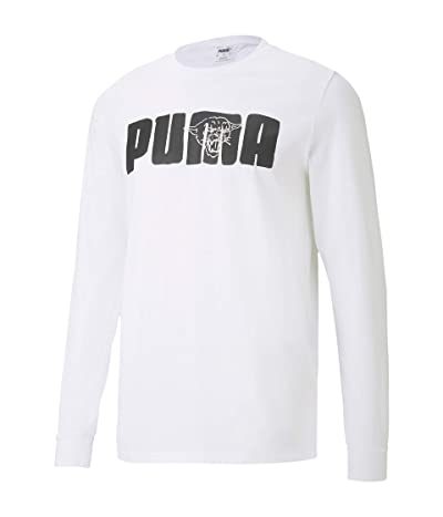 PUMA Franchise Street T-Shirt (PUMA White) Men