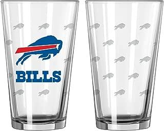 Boelter Brands NFL Satin Etch Pint Glass Sets