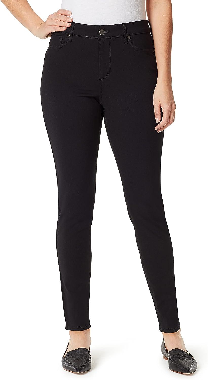 Gloria Vanderbilt Women's Petite Amanda Ponte Knit Pant
