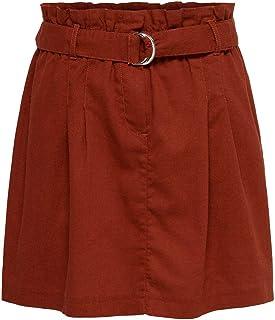 Only Onlnelda-Bibs HW Short Skirt Pnt Gonna Donna