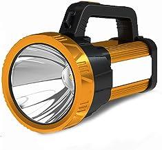 Handheld LED Spotlight Flashlight, high-Power Rechargeable Strong Light led Outdoor COB Work Light, Super Bright USB Outpu...