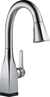 Delta Faucet Mateo Single-Handle Bar-Prep Touch Kitchen Sink Faucet with Pull Down Sprayer, Touch2O Technology and Magneti...