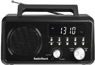 RadioShack Portable Digital Tuning AM/FM/Weather Tabletop Radio