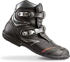 GAERNE(ガエルネ) バイクブーツ ライディングシューズ ToughGear Flat/タフギア フラット ブラック 25.0cm 【総輸入元:ジャペックス】