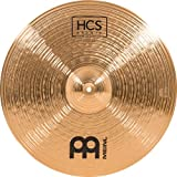 """Meinl Cymbals 20"""" Crash-Ride – HCS Traditional Finish Bronze for Drum Set, Made In Germany, 2-YEAR WARRANTY (HCSB20CR)"""