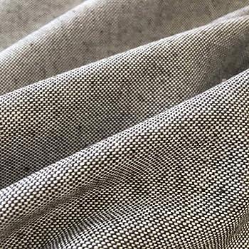 Tela por metros de loneta lisa - Half Panamá 100% algodón - Ancho 280 cm - Largo a elección de 50 en 50 cm | Marrón chocolate: Amazon.es: Hogar