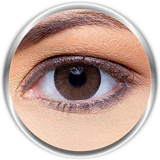 Anesthesia Addict Crema Unisex Contact Lenses, Anesthesia Cosmetic Contact Lenses, 6 Months Disposable - Addict Crema (Haz...