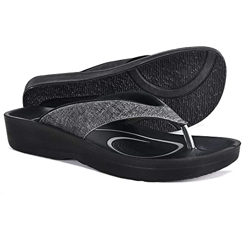 f5a67493e1339 AEROTHOTIC Original Orthotic Comfort Thong Style Sandals   Flip Flops for  Women with Arch Support for