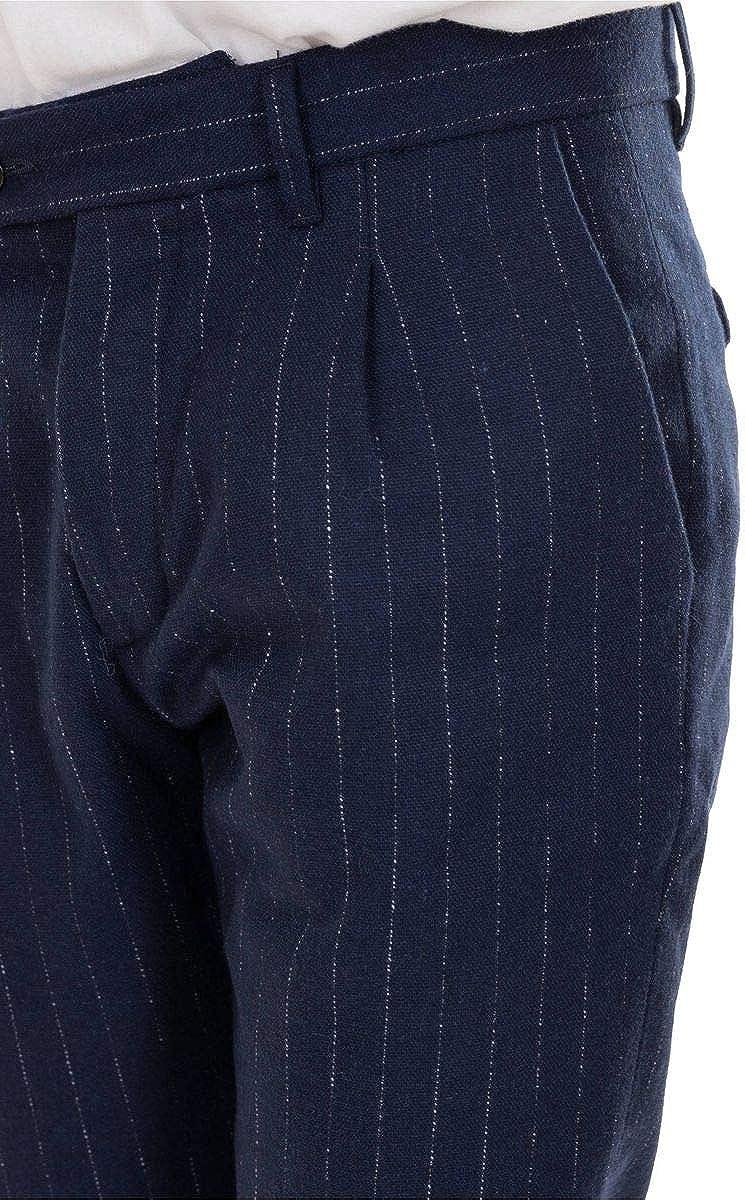 OFFICINA 36 Pantalon GESSATO Article 2723TP Agostino Bleu