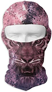 XZX2018 Abstrac Mechanical Tiger Head Balaclava Sunscreen Windproof Sandproof Outdoor Sports Full Face Mask