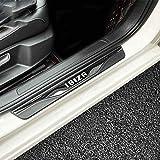 Umbrales de puerta de acero inoxidable ultrafinos, para Seat Ibiza FR TGI 2015-2020 Pedal de coche Placas de protección Barra de umbral Antideslizante Tira protectora antirrayas Accesorios decorativos