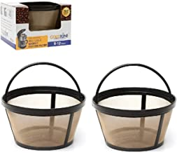 GoldTone Brand Reusable 8-12 Cup Basket Coffee Filter fits Mr. Coffee Makers and Brewers. Replaces your Mr. Coffee Reusable Basket Filter & Mr. Coffee Basket Filter - BPA Free - (2 PACK)