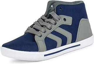 2ROW Men's High Top Blue Sneakers