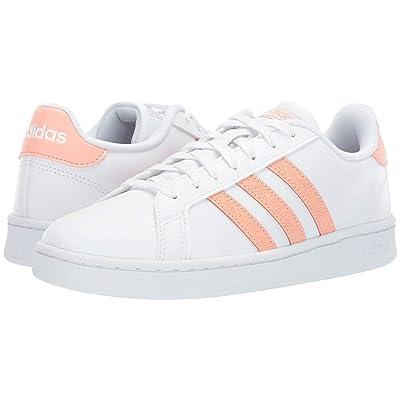 adidas Grand Court (Footwear White/Dust Pink/Footwear White) Women