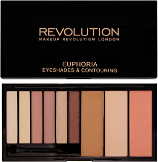 Makeup Revolution Euphoria Palette in Bare - Eyeshadows and Contour System