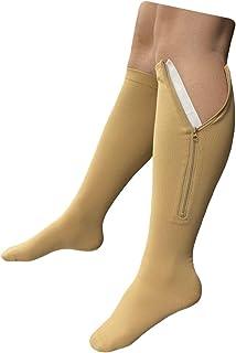 Presadee Original Closed Toe 20-30 mmHg Zipper Compression Calf Leg Socks