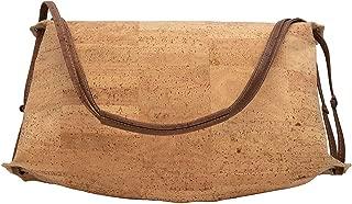 Cork Halfmoon Handbag Vegan Bag Unique Style Purse Designed in Canada